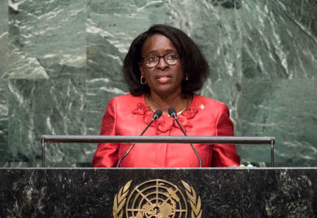 Grenada joins regional call at UN for action on climate change