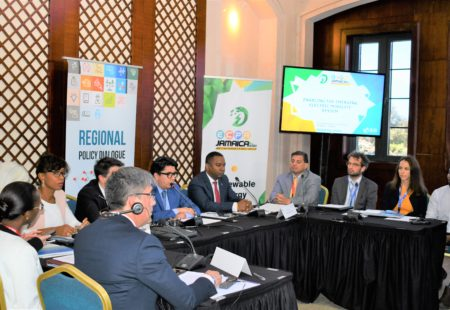 CCREEE Supports Regional Dialogue on Energy & Gender and E-Mobility During the Energy and Climate Partnership of the Americas (ECPA) Ministerial Meeting