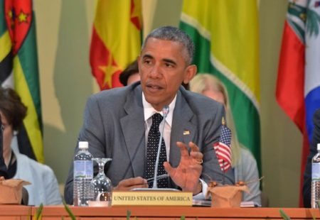 US President Barack Obama Urges Caribbean on Green Energy