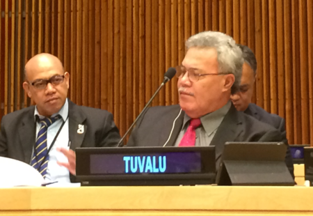 Tuvalu's Prime Minister Appointed President of the SIDS DOCK Assembly