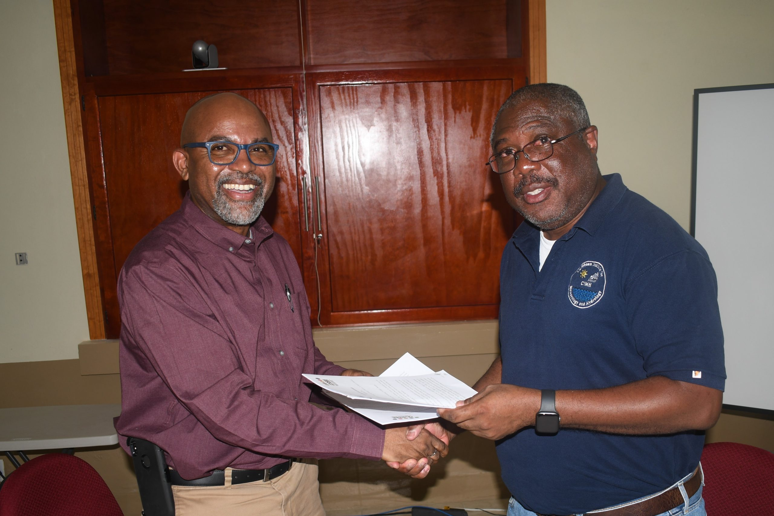 CCREEE & CIMH Sign Cooperation Agreement