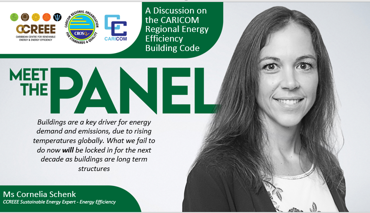 What's in it for me? A Discussion on the CARICOM Regional Energy Efficiency Building Code (CREEBC)
