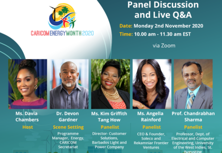 Energy Finance, Technology and Capacity at Centre of CARICOM Energy Month Launch