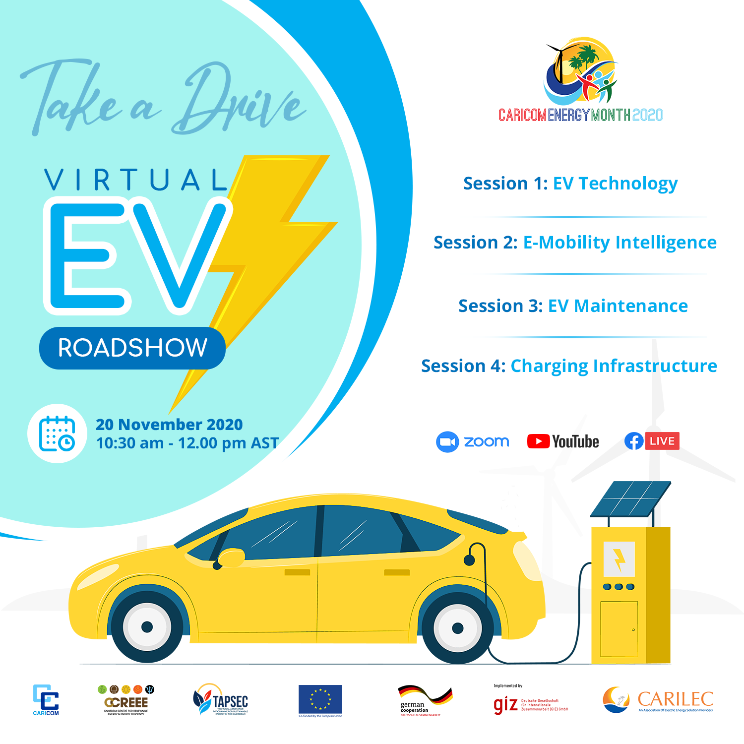 'Take a Drive' Virtual Electric Vehicle Roadshow