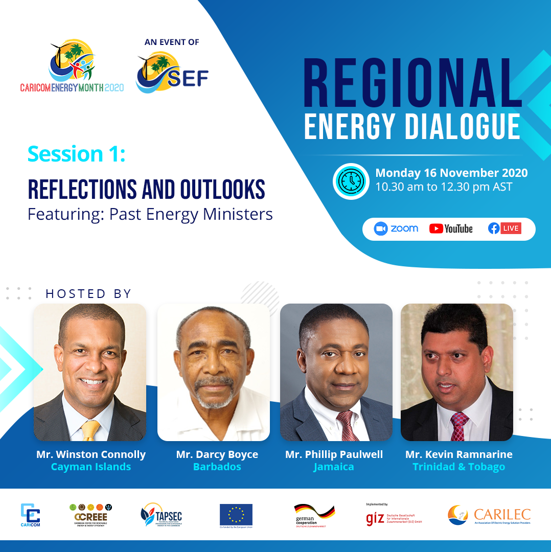 Former Energy Ministers Kick Off Regional Energy Dialogue