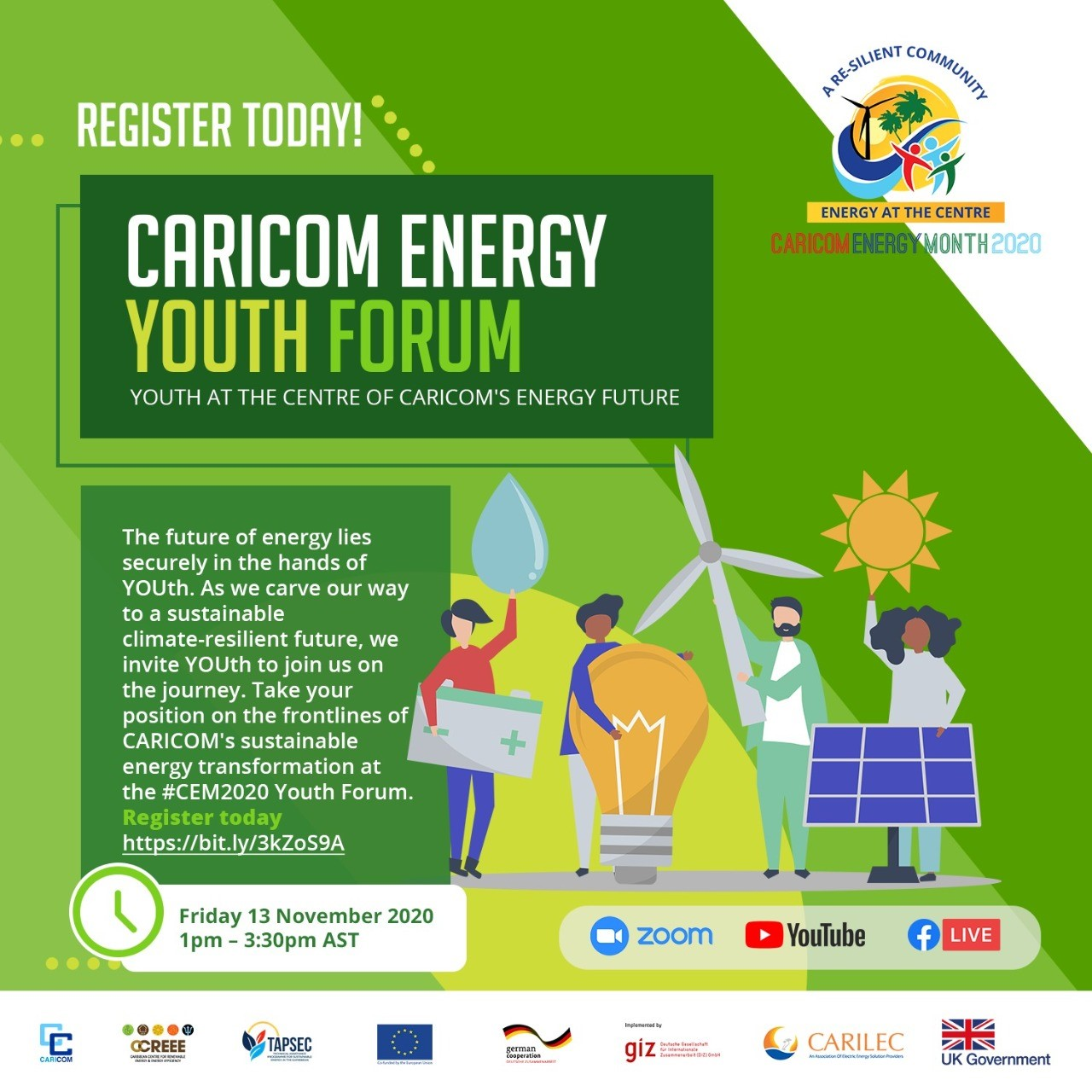 Youth Take Centre Stage During CARICOM Energy Month