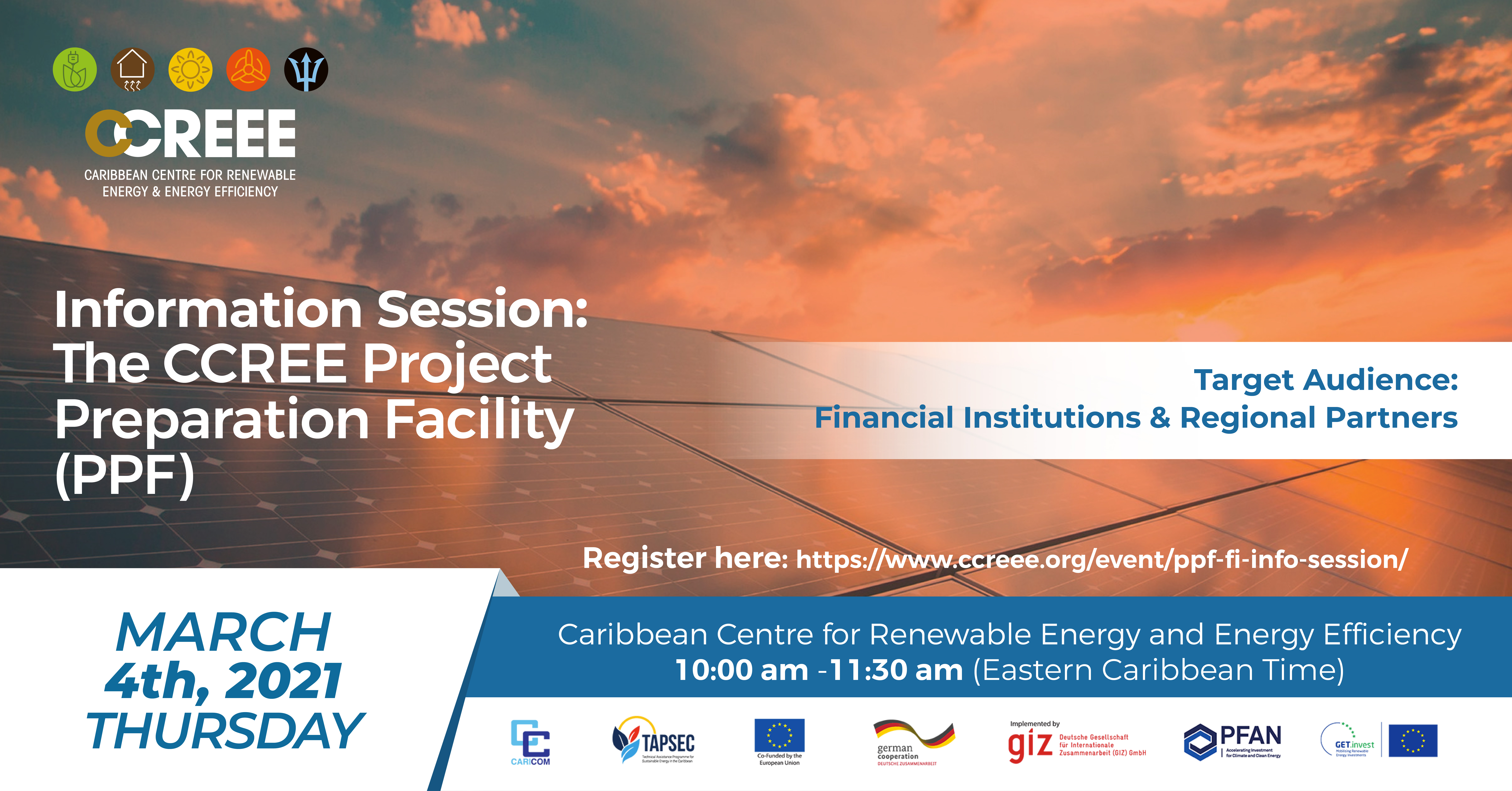 PPF Information Session: Financial Institutions & Regional Partners