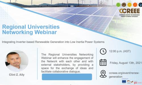 RUN Webinar – Inverter-based Renewable Generation