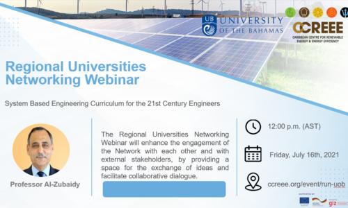 RUN Webinar Presented by University of the Bahamas