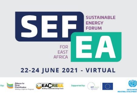 Sustainable Energy Forum for East Africa (SEFEA) from 22 to 24 June 2021